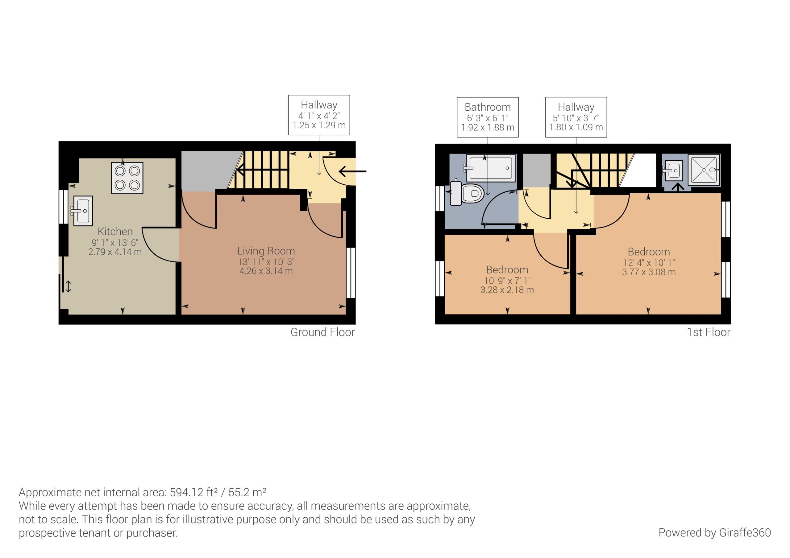 8, Pinkers Mead Floorplan